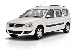 location de voiture aéroport Guadeloupe - CAT. E   DACIA Logan MCV (7 Places)